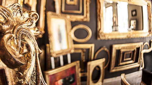Hand-made traditional frames